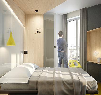 Hotel Paris 13eme